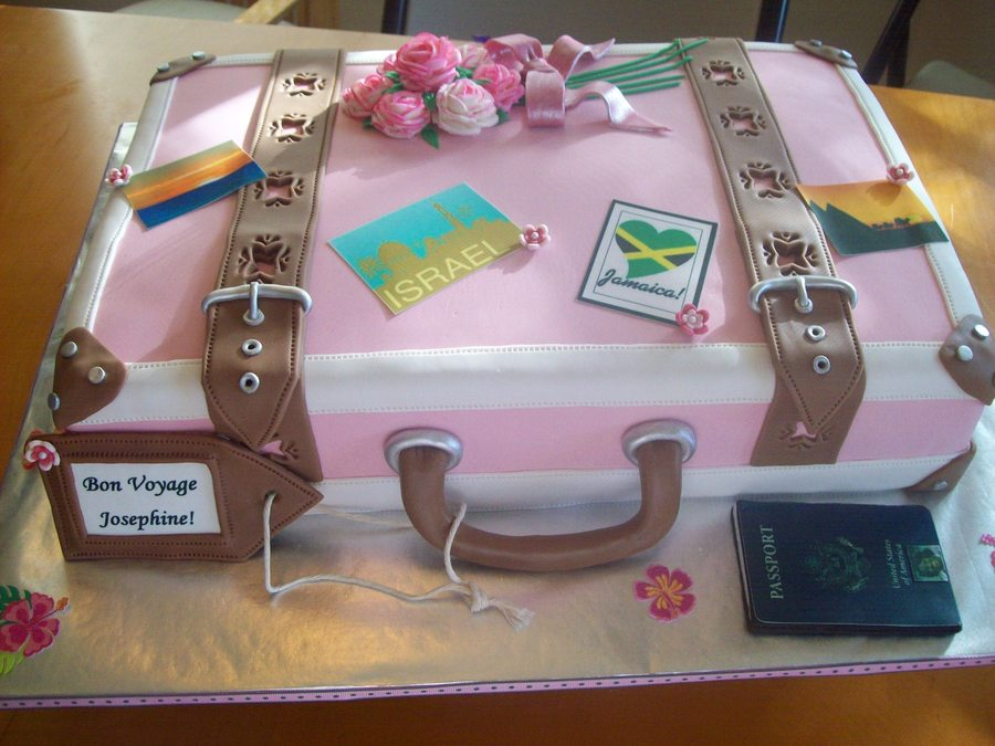 Retirement Suitcase - CakeCentral.com