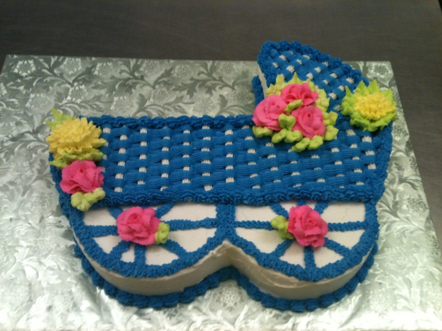 Baby Carriage on Cake Central