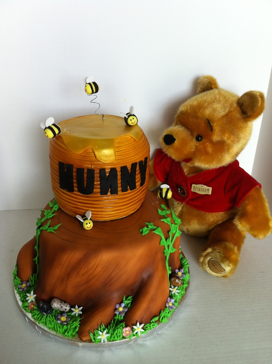 Winnie The Pooh Hunny on Cake Central