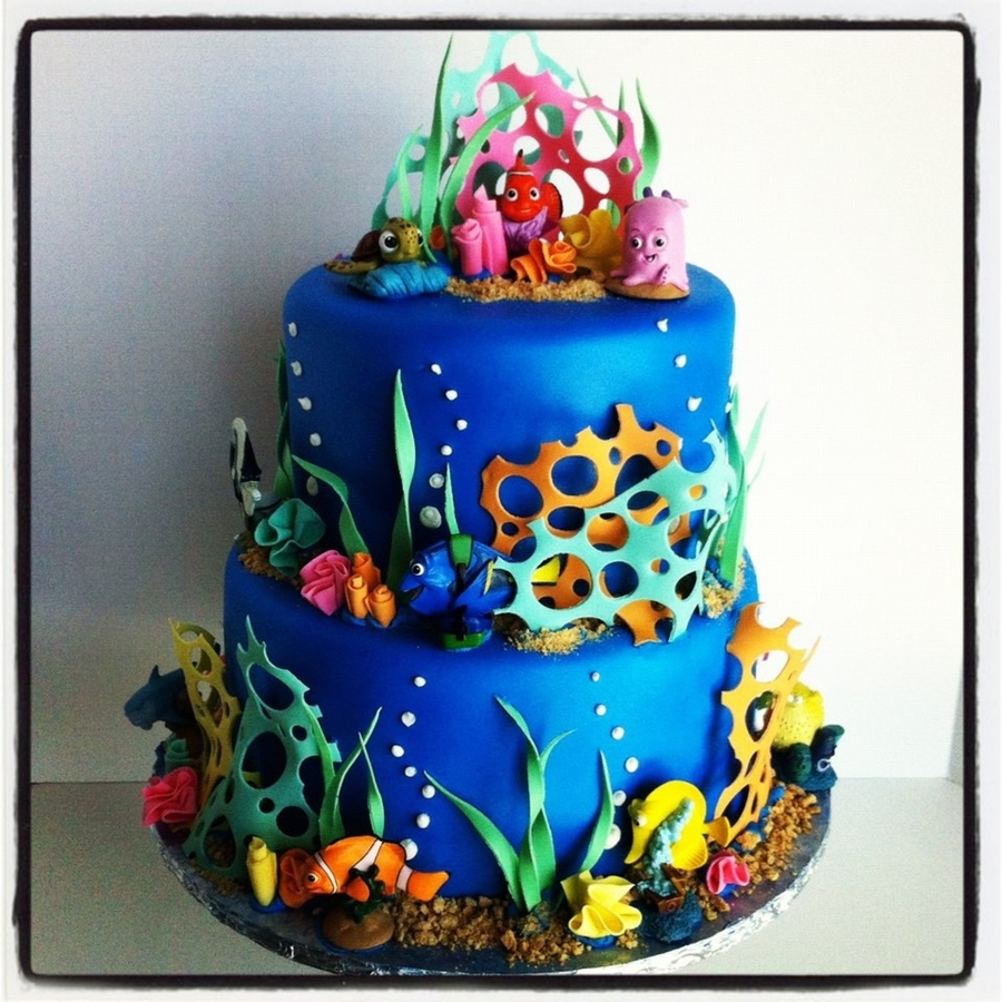 Nemo Fish Birthday Cake