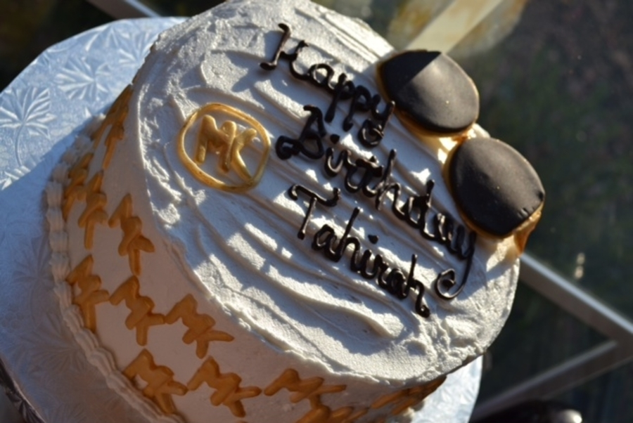 Michael Kors Themed Sweet on Cake Central