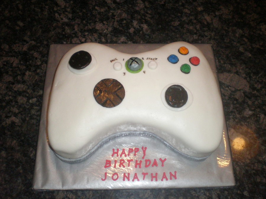 Xbox on Cake Central