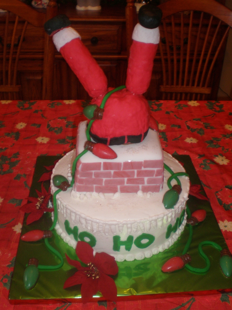 Santa Needs A Diet! on Cake Central
