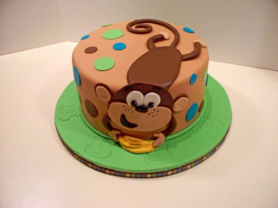 Marvelous Monkey Birthday Cakecentral Com Funny Birthday Cards Online Alyptdamsfinfo