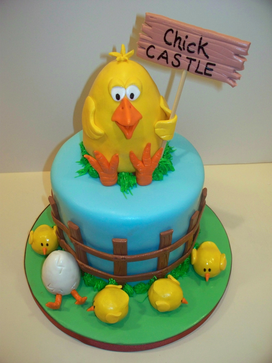 Cake For A Chicken Farmer on Cake Central