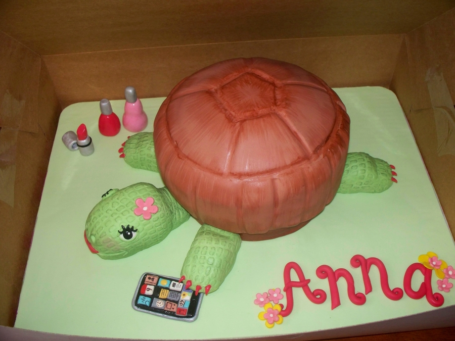 Turtle Cake on Cake Central