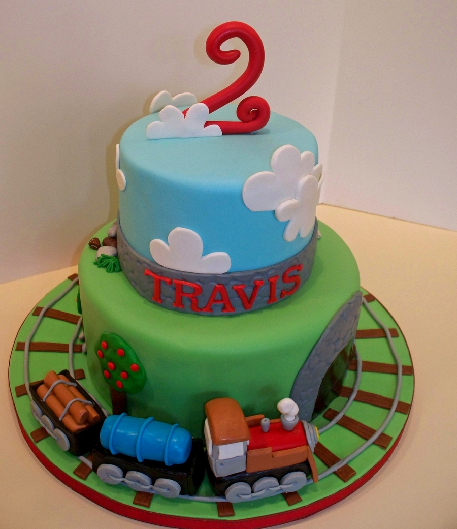 Pictures Of Thomas The Train Birthday Cakes