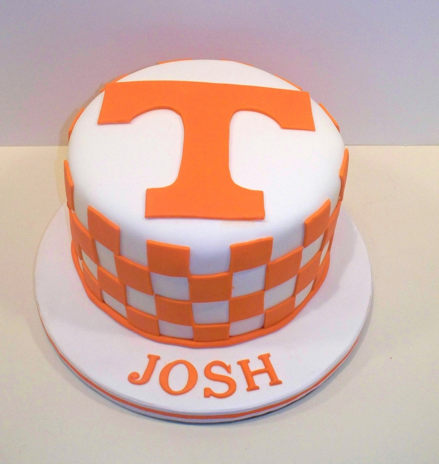Tennessee Birthday Cake on Cake Central