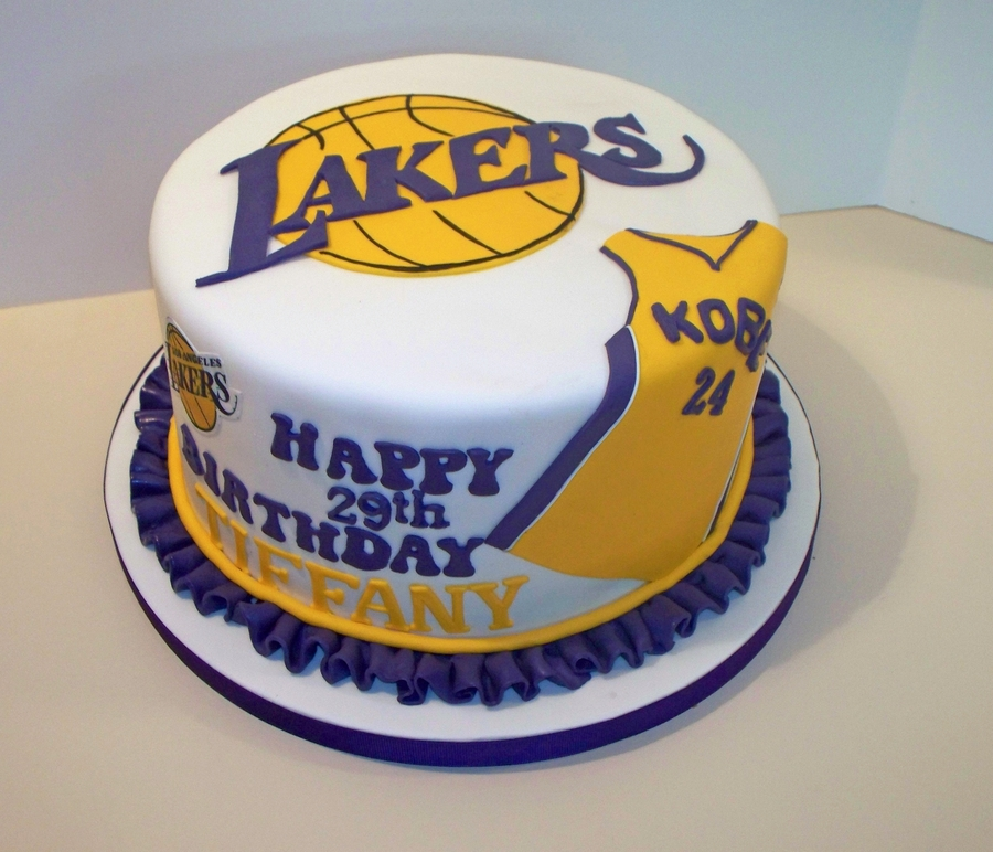 Lakers Cake Cakecentral