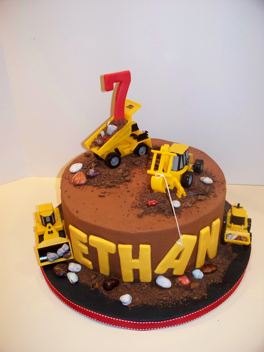 Construction Birthday Cake Recipe