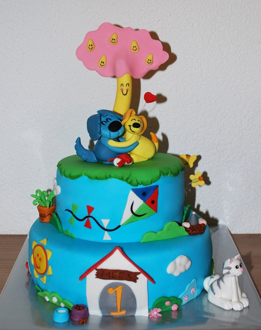 Woezel & Pip Cake on Cake Central