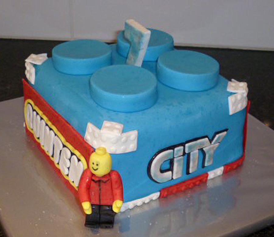 Quinten S Lego City Cake Cakecentral Com