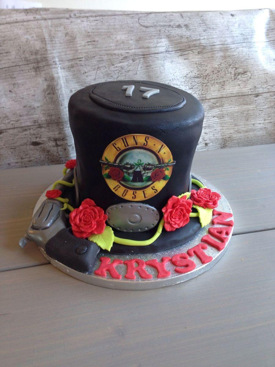 A Slash Hat Birthday Cake On Central