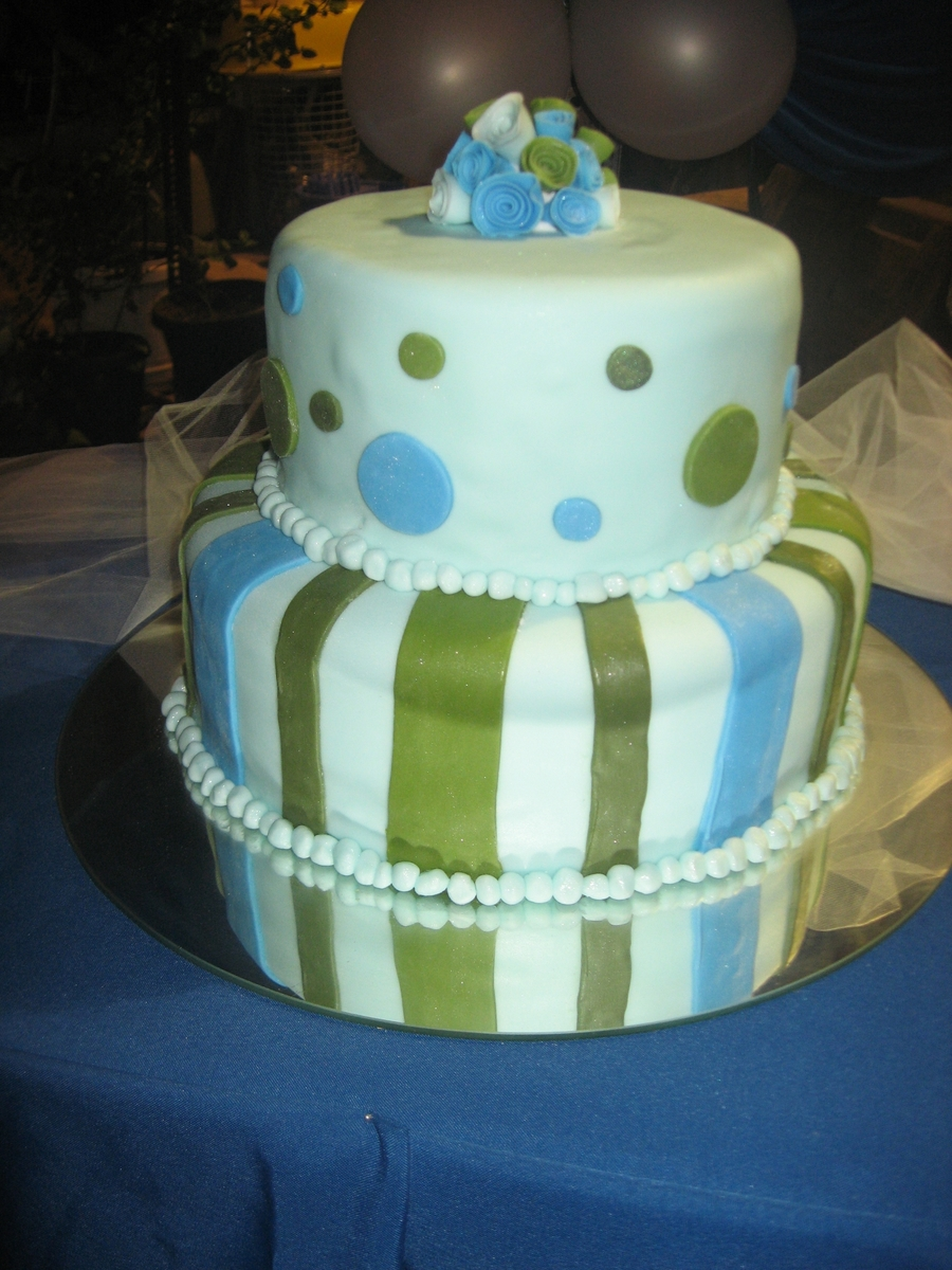 Green And Blue on Cake Central