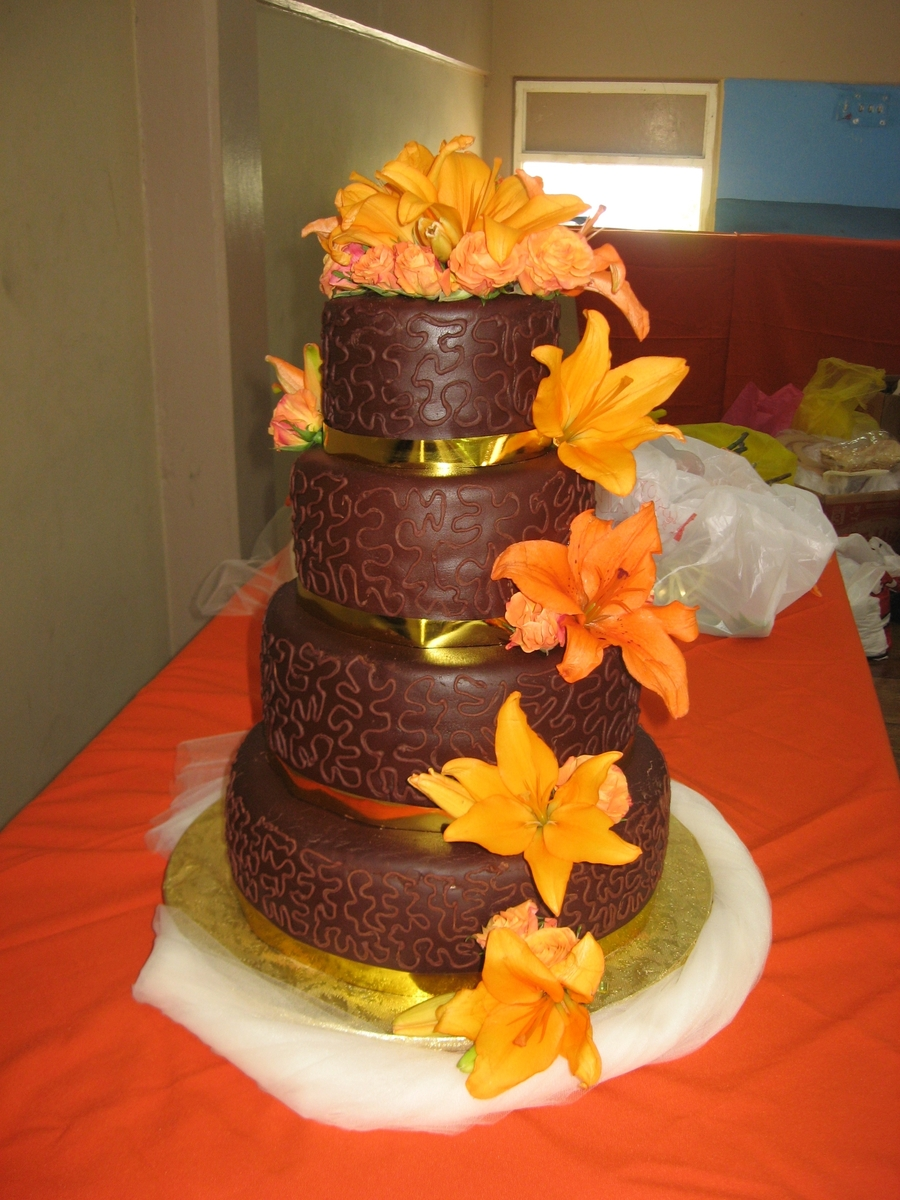 Chocolate Tower on Cake Central