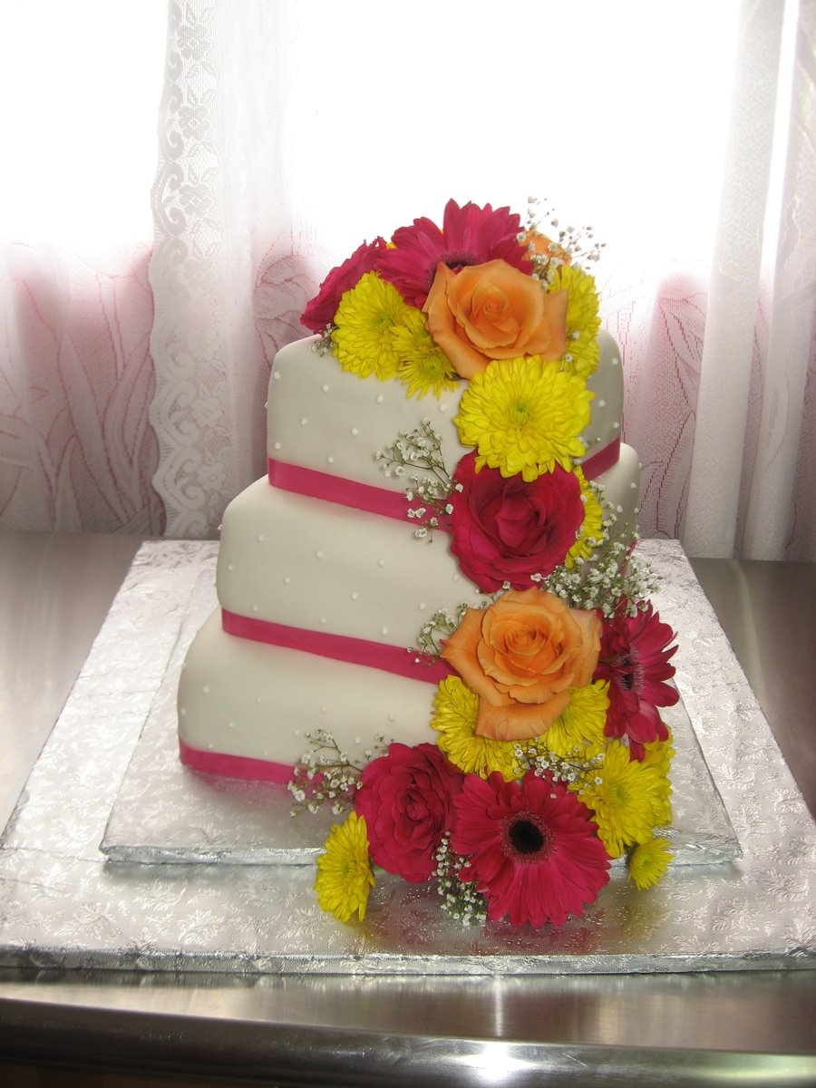 Floral Beauty  on Cake Central