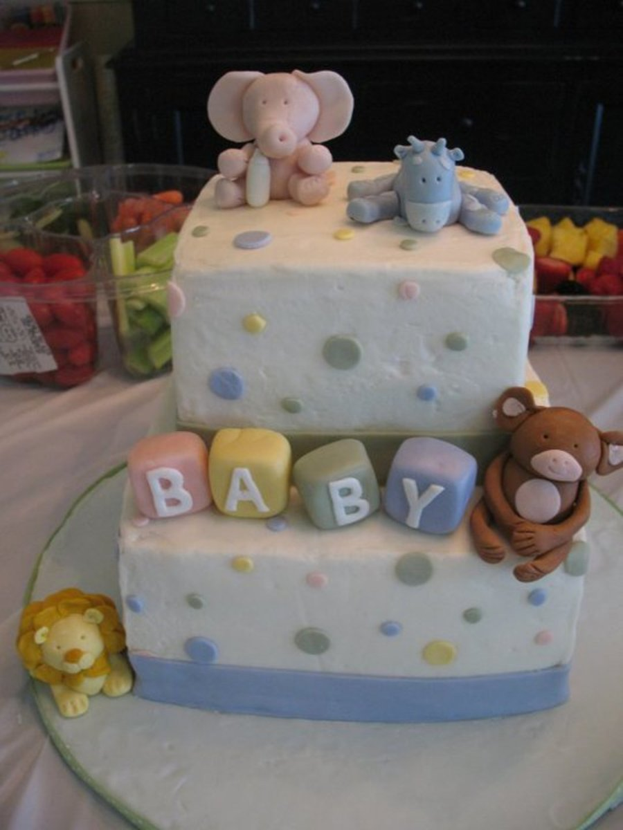Jungle Baby Shower on Cake Central