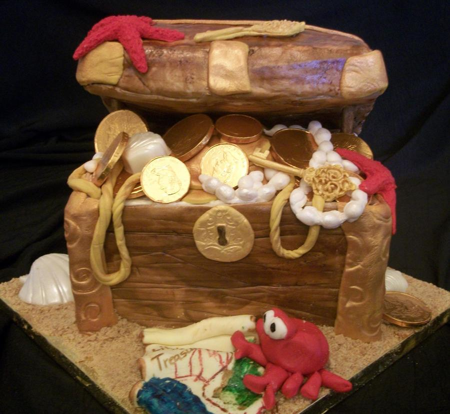 Pirate's Treasure Chest on Cake Central
