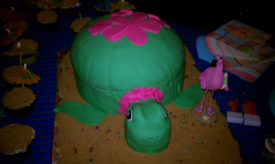 Sea Turtle on Cake Central