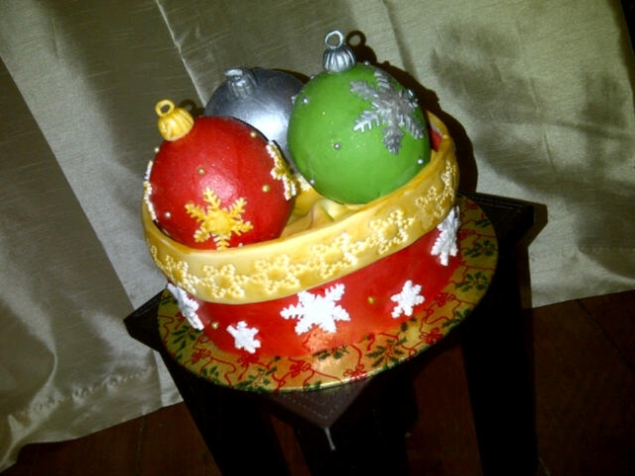 Baubles on Cake Central