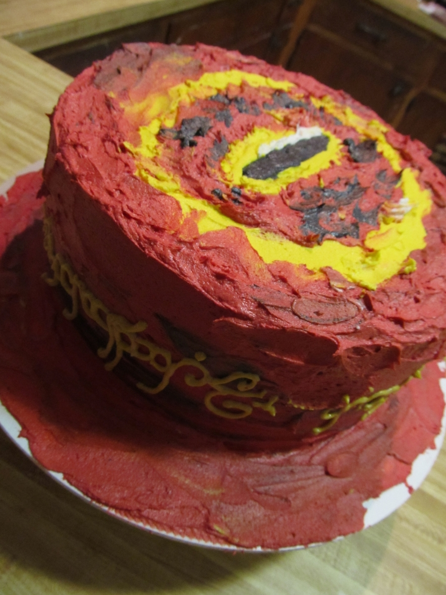 Eye Of Sauron on Cake Central