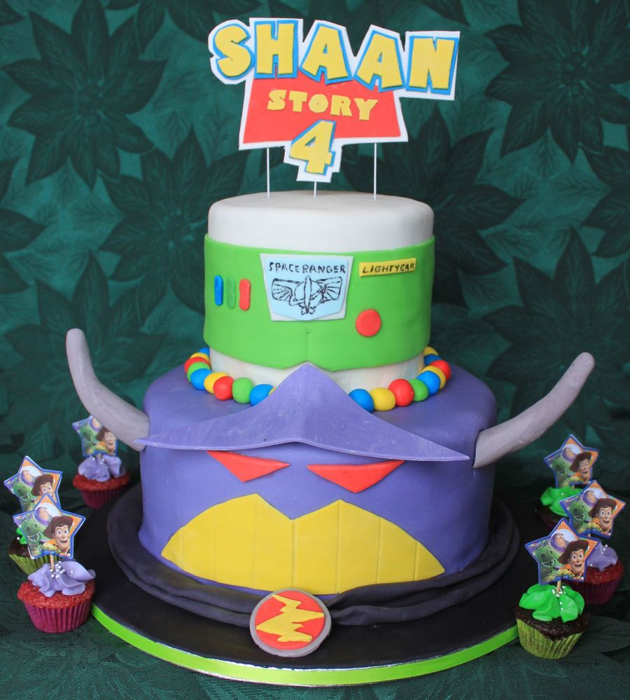 Toy Story - Buzz Lightyear And Emperor Zurg on Cake Central