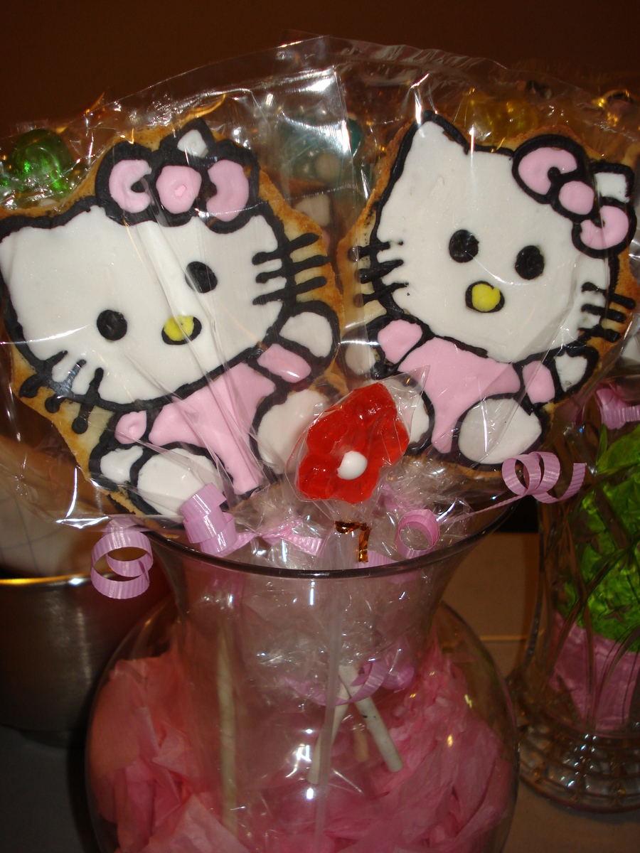Hello Kitty Cookies on Cake Central