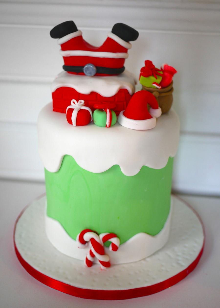 Santa Cake Cakecentral Com
