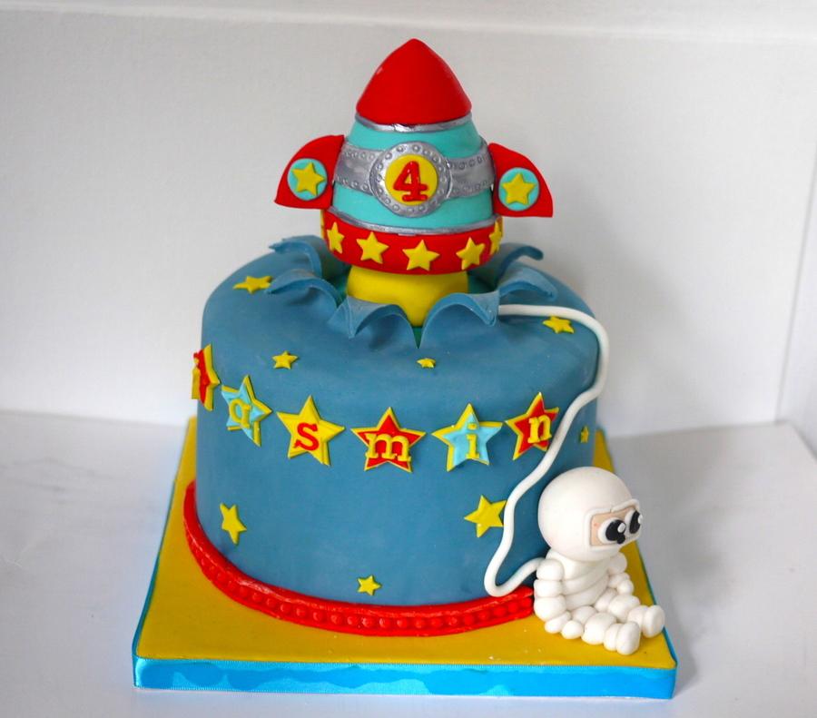Rocket Cake Cakecentral Com