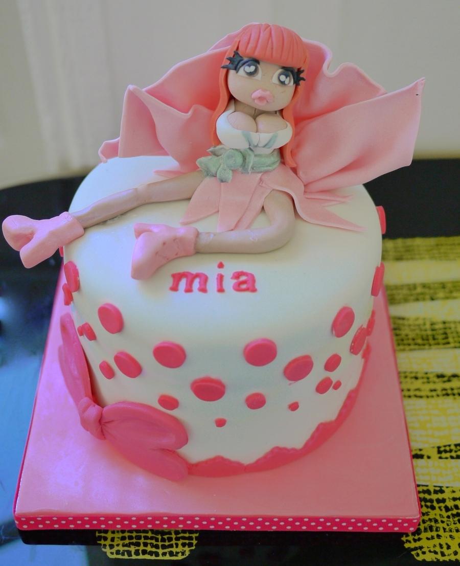Swell Nicki Minaj Cake Cakecentral Com Personalised Birthday Cards Paralily Jamesorg