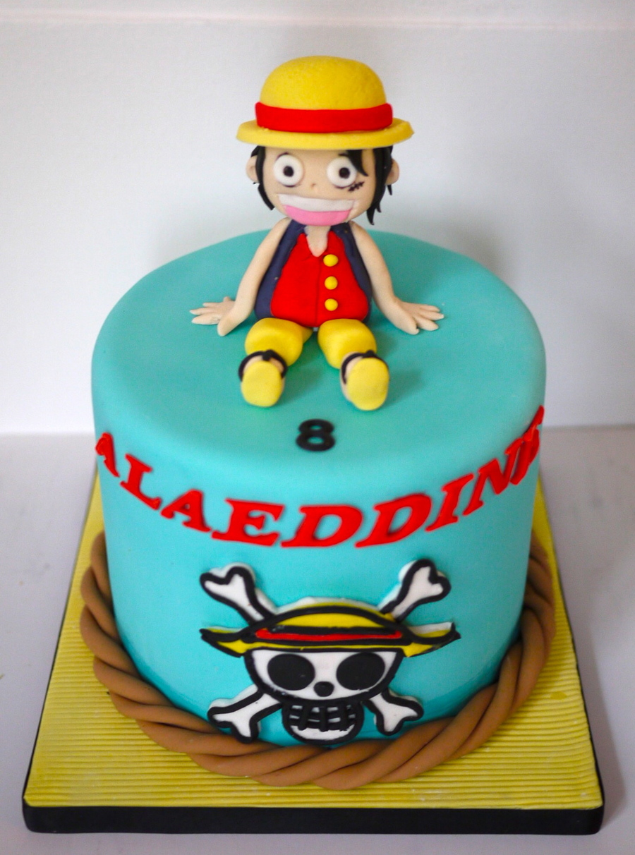 Luffy One Piece Cakecentral Com