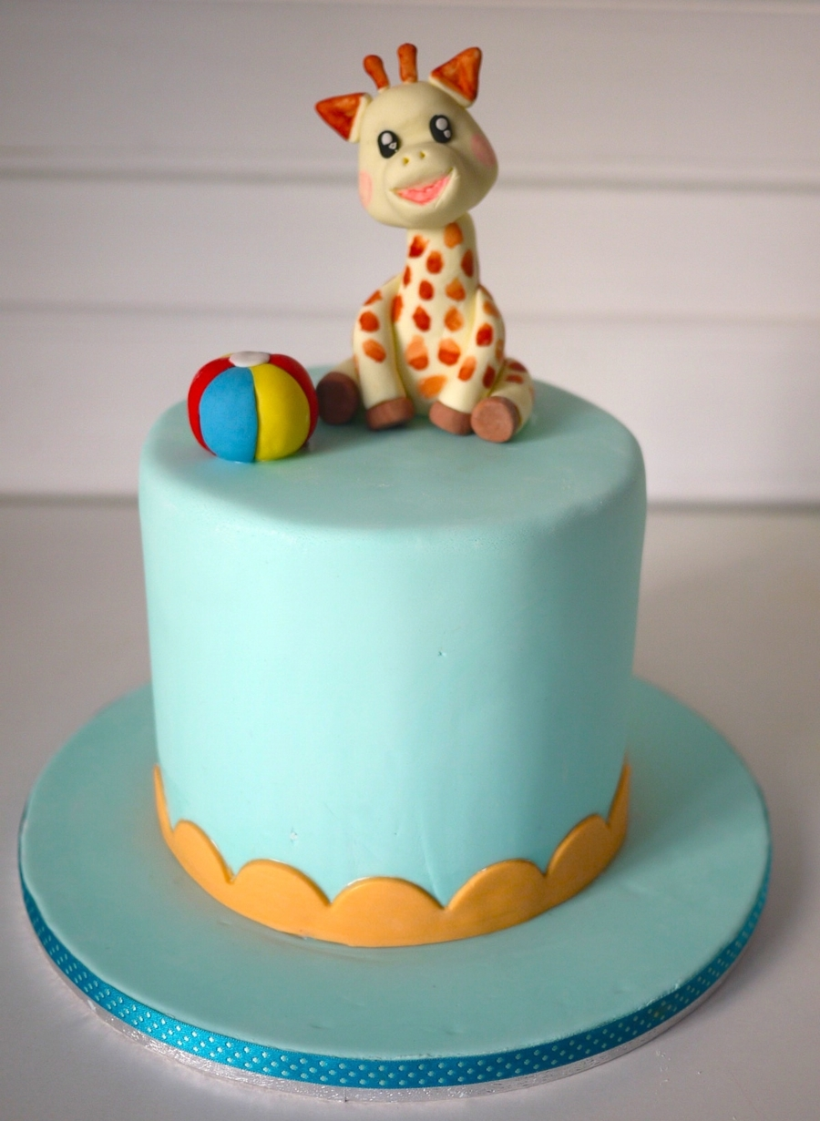 Sophie The Giraffe Cake on Cake Central