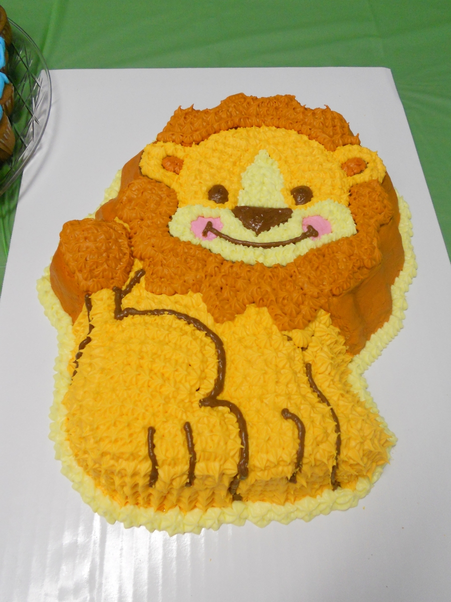 """precious Planets"" Lion  on Cake Central"