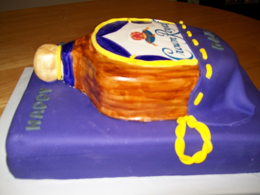 Crown Royal Cake on Cake Central