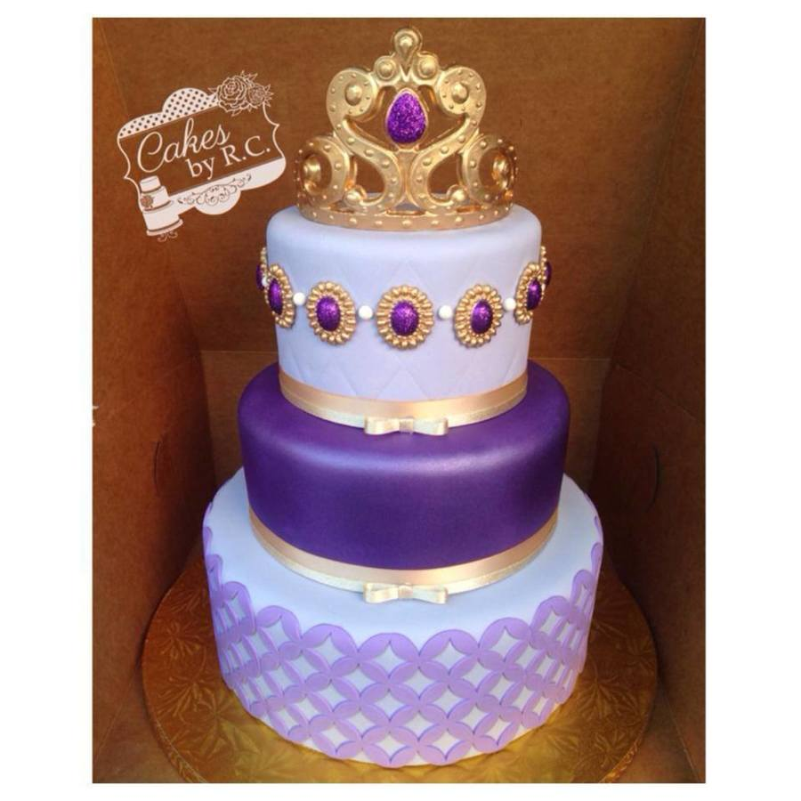 Sofia The First Inspired Cake Cakecentral