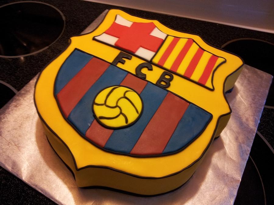 Cake Design Barcelona : Fc Barcelona Cake - CakeCentral.com
