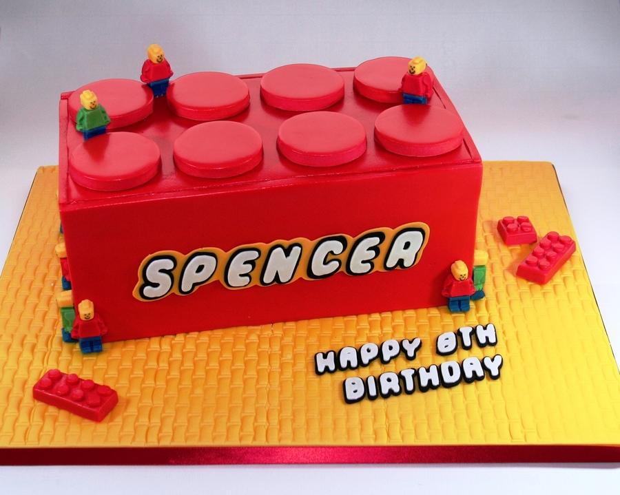 Lego Brick Cake Recipe