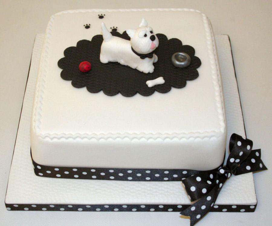 Sensational Highland Terrier Birthday Cake Cakecentral Com Personalised Birthday Cards Akebfashionlily Jamesorg