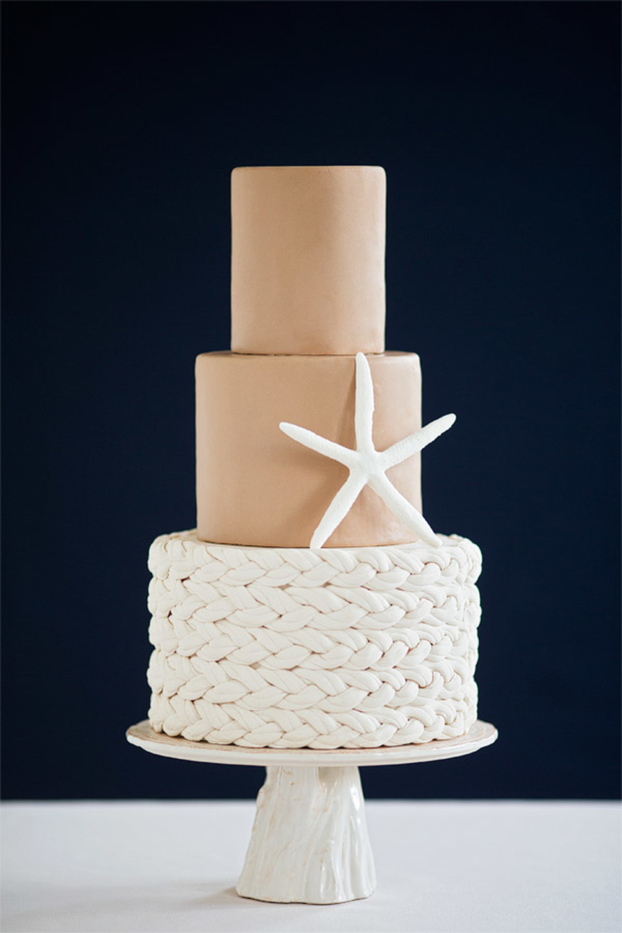 Braided Fondant Rope on Cake Central