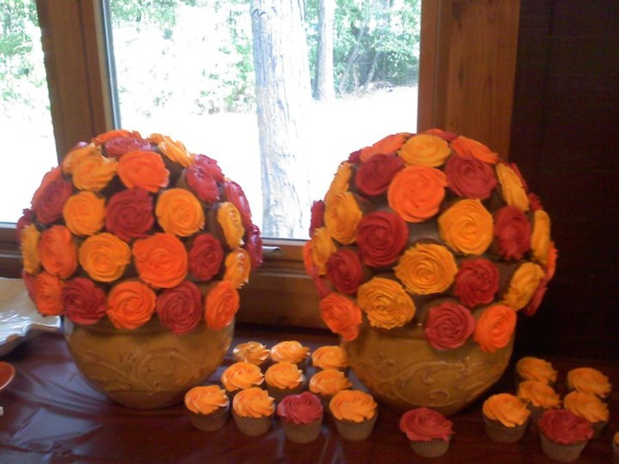 Cupcake Bouquets For Fall Wedding on Cake Central