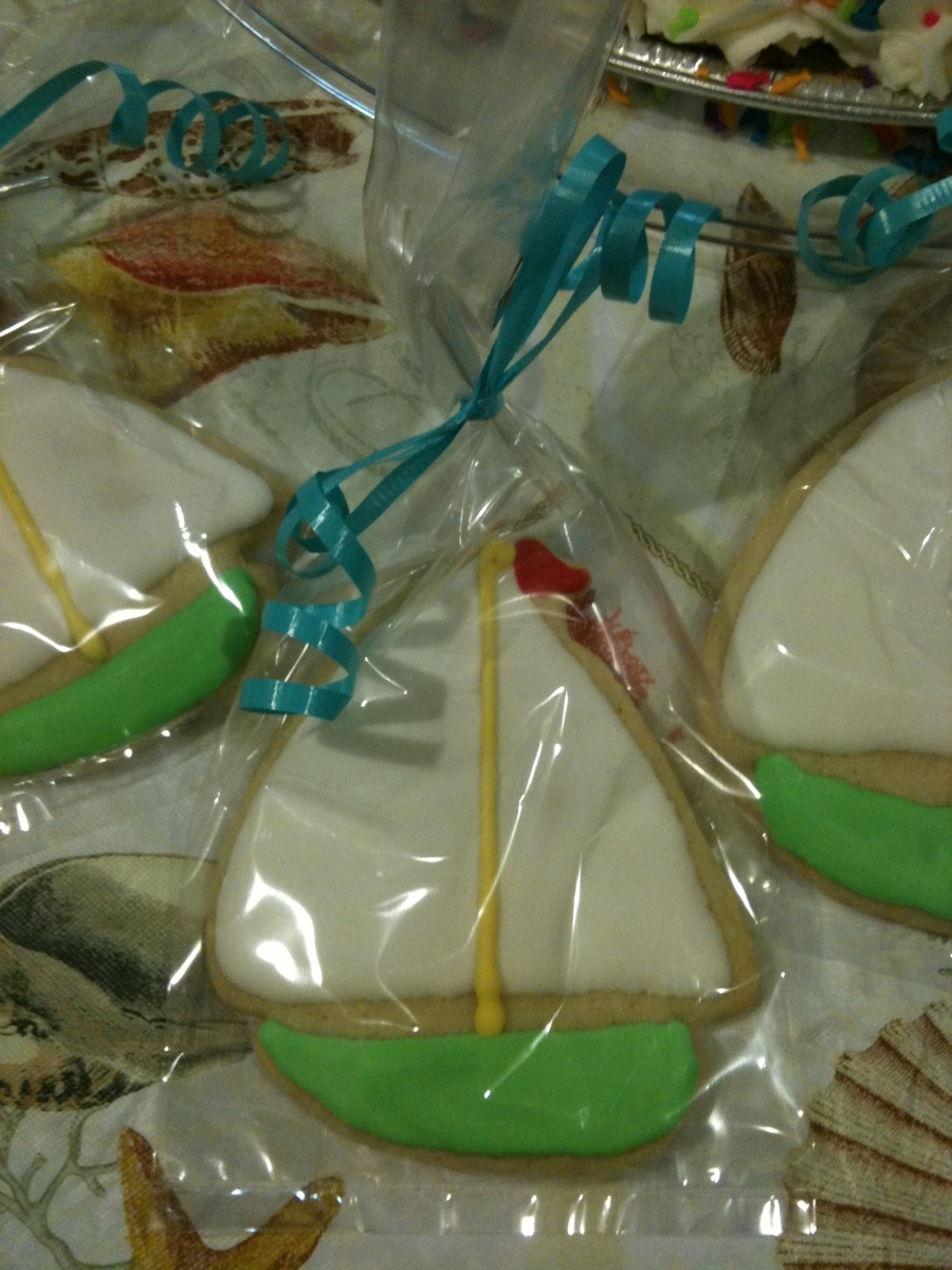 Sailboat Cookies on Cake Central