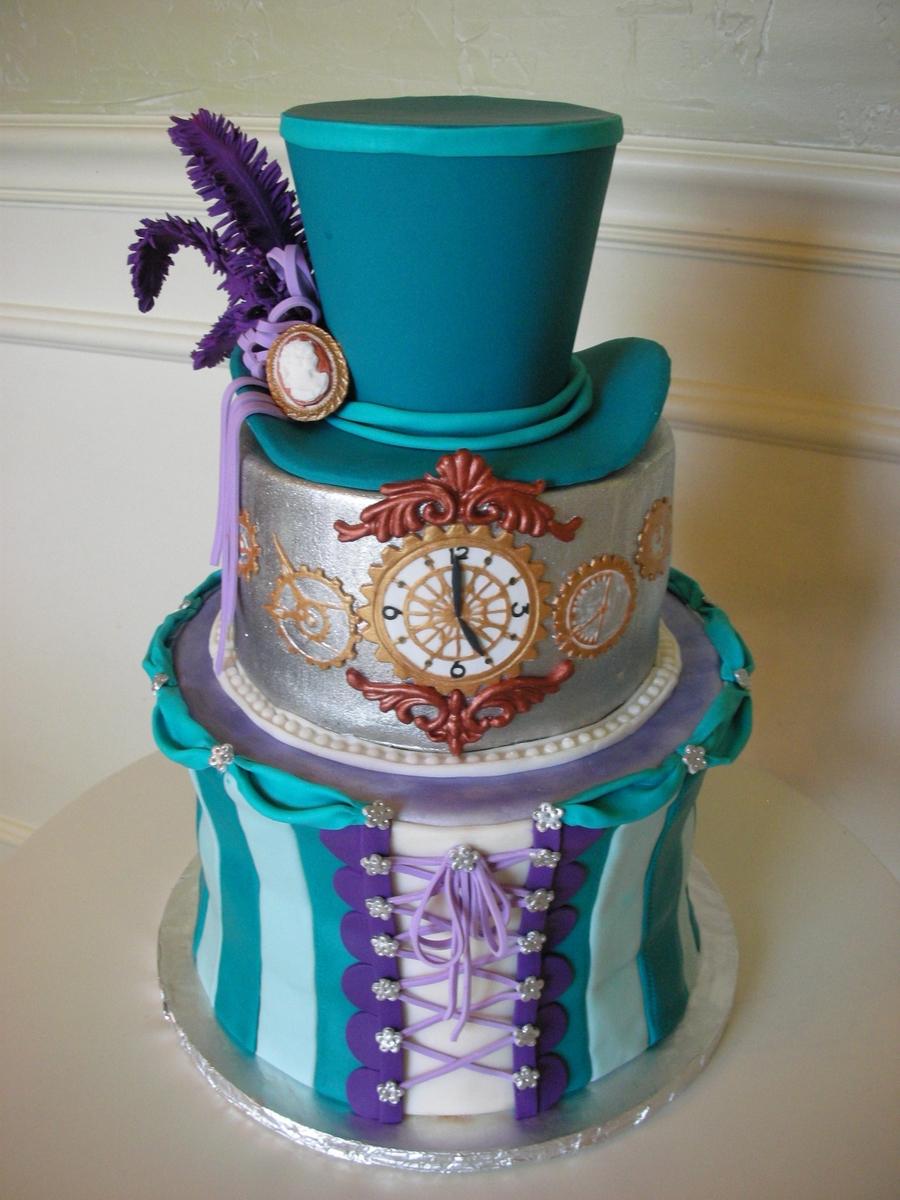 Steampunk Victoriana Cakecentral Com