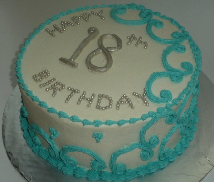 18Th Birthday  on Cake Central