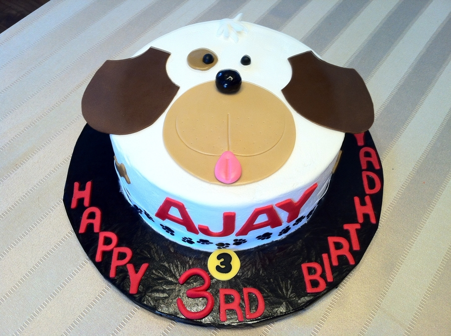 Puppy Face Cake Cakecentral