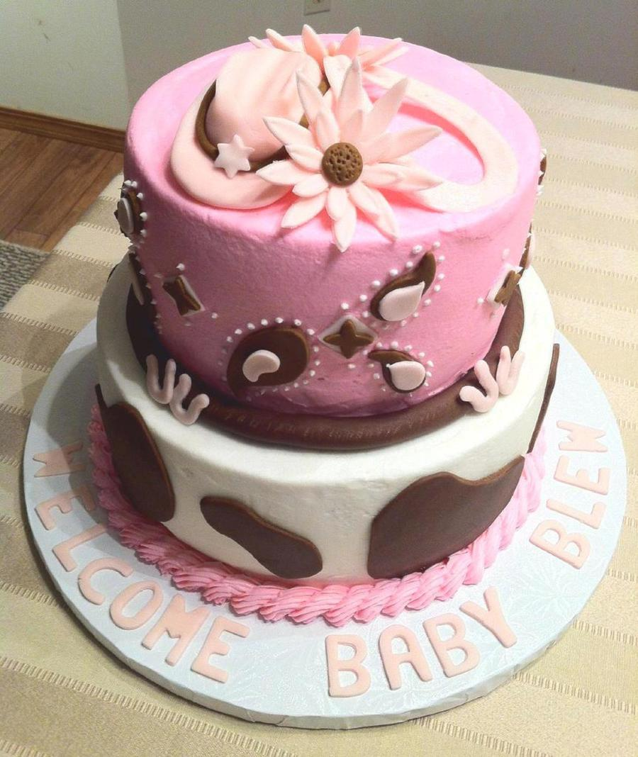 Horse Themed Baby Shower Cake