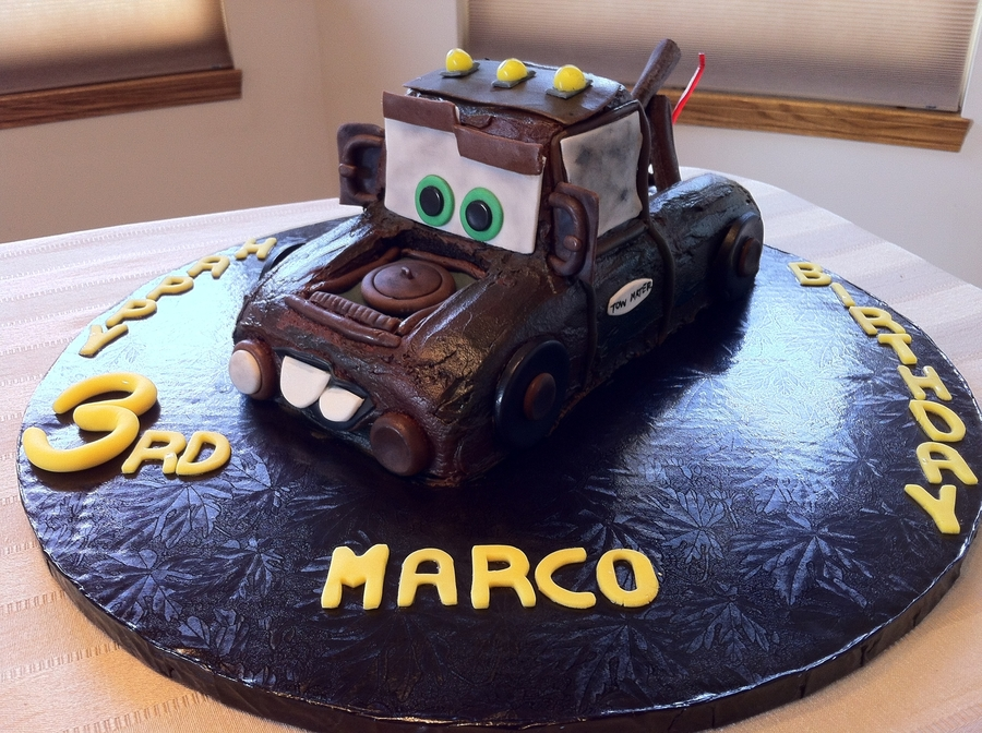 Tow Mater Cake on Cake Central