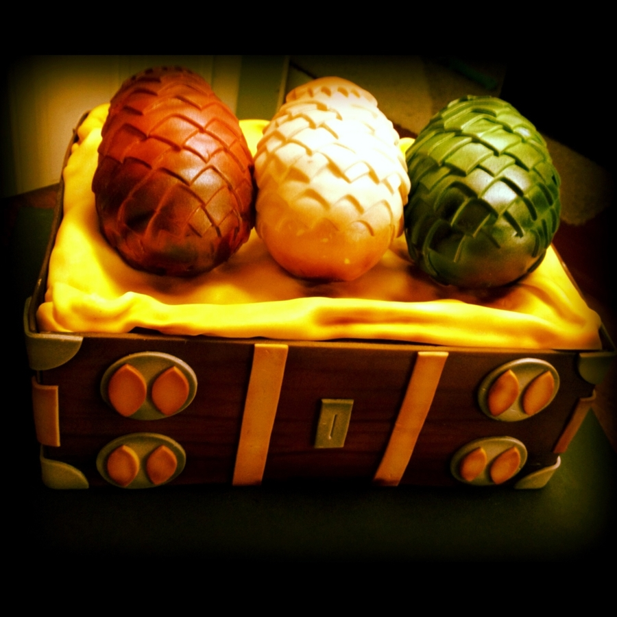 Game Of Thrones Dragon Eggs - CakeCentral.com