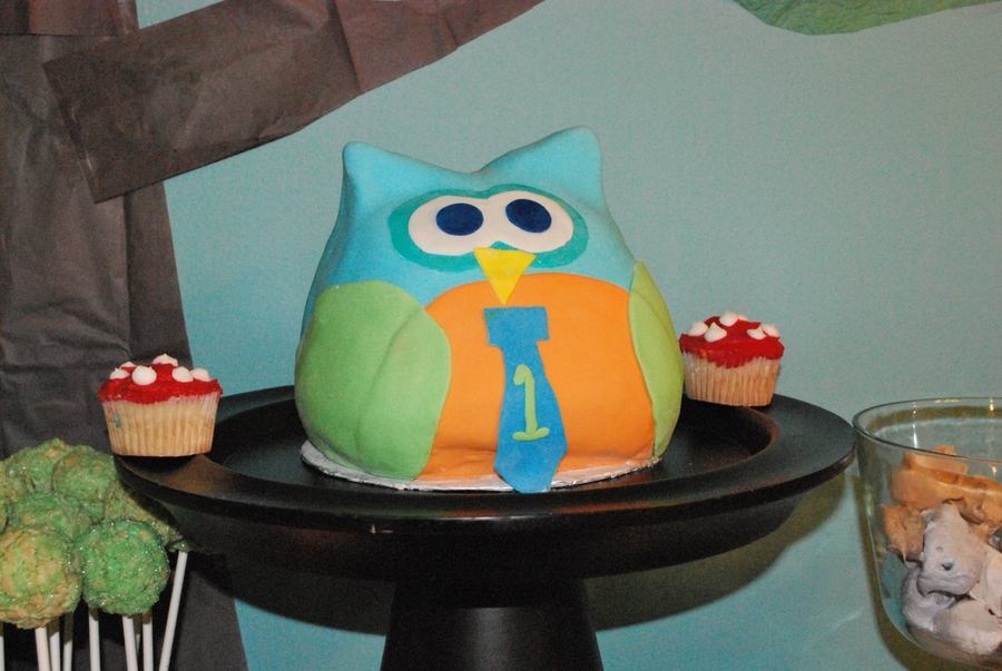 """owl"" Party With You! on Cake Central"