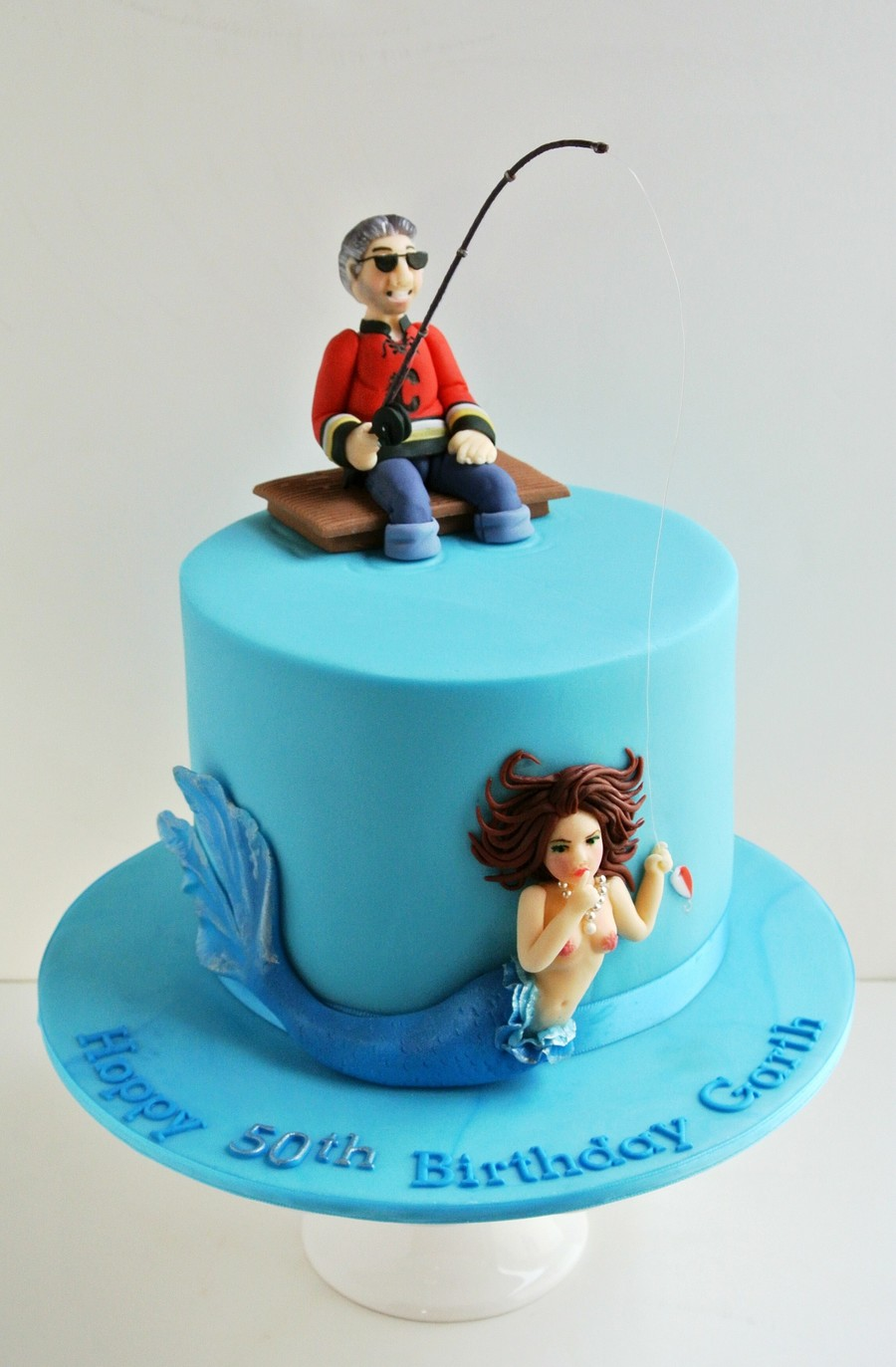 The Fisherman And The Mermaid CakeCentralcom