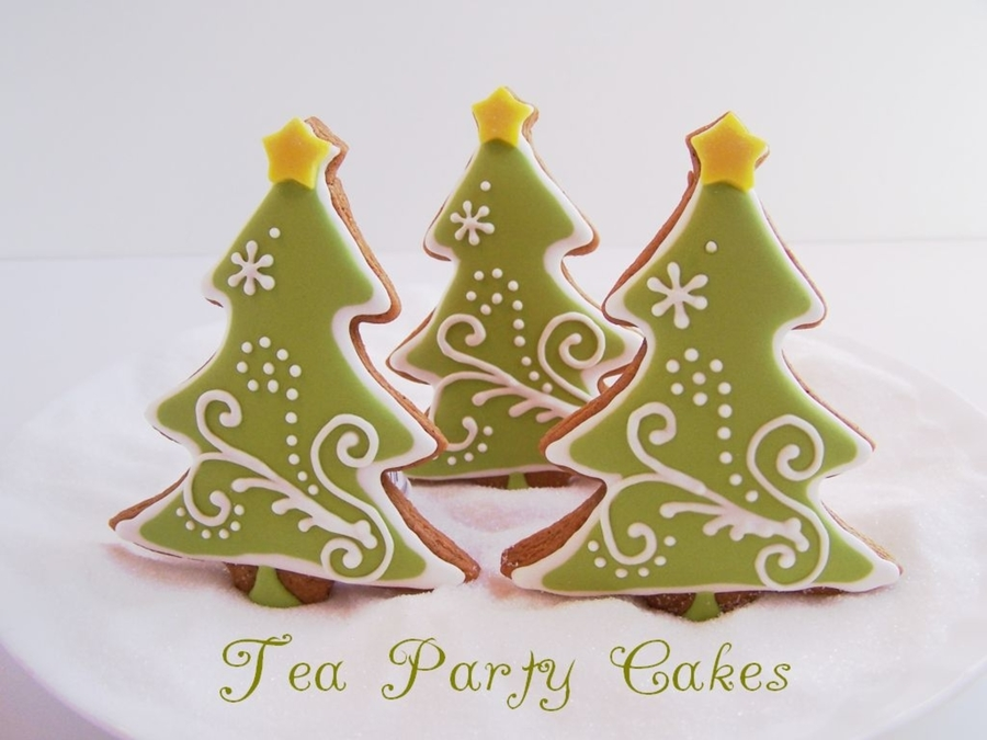 Decorating Ideas For Christmas Tree Cookies : Christmas tree cookies cakecentral